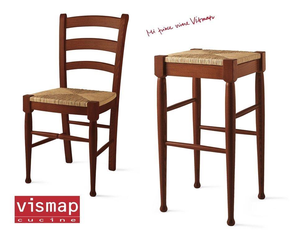 vismap accessori: sedute e sgabelli con le nostre cucine vi ... - Sedia Massello Frassino Julia