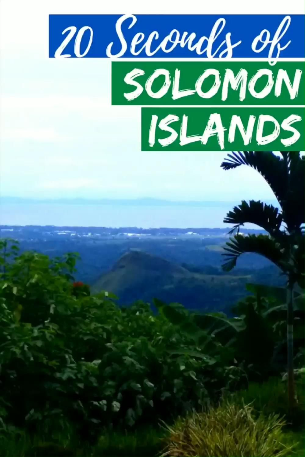 Amazing History, Spirits and Storms on the Solomon