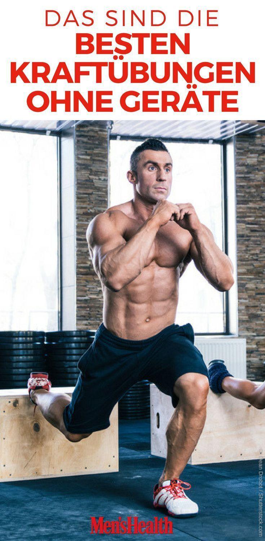 Durch Training ohne Geräte zur Bestform deines Lebens -  Fitness körper - #Bestform #deines #durch #...
