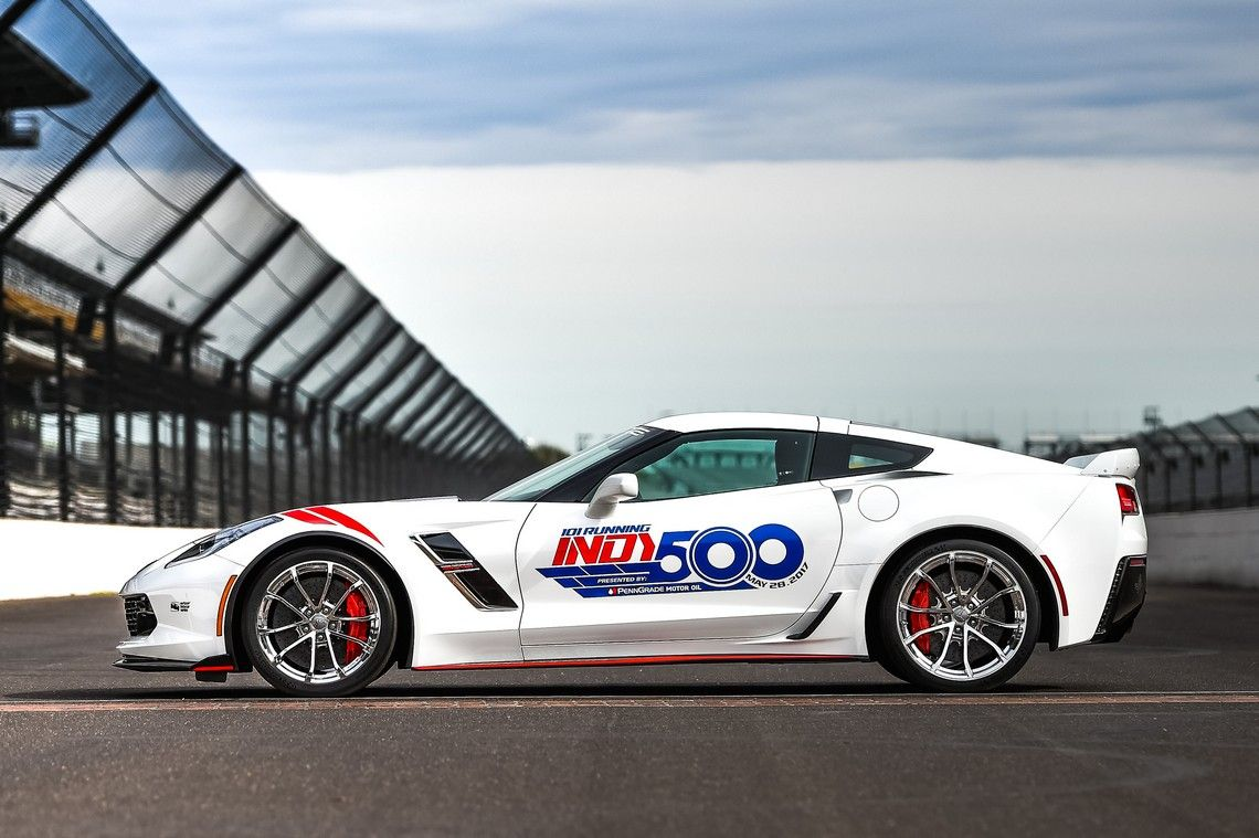 Corvette official Pace Car di Indianapolis 500 Cavalli