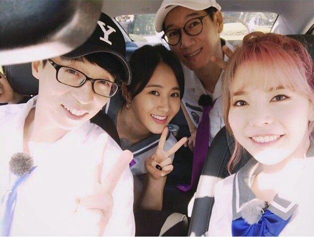 SNSD - YuRi 😍 😁 유리 : Instagram Update With Sunny : Running Man