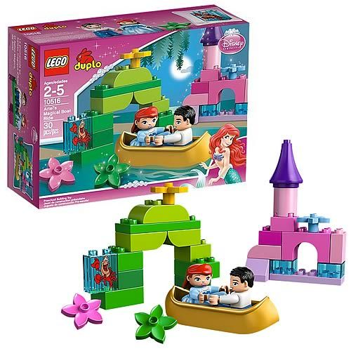 Lego Duplo 10516 Little Mermaid Ariel S Magical Boat Ride Entertainment Earth Ariel The Little Mermaid Lego For Kids The Little Mermaid