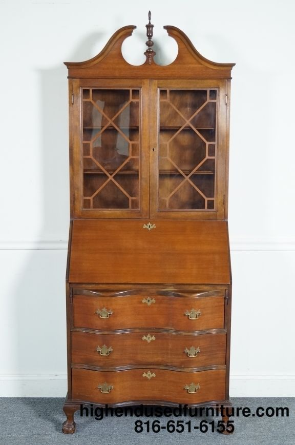 Skandia Furniture Antique Chippendale Winthrop Fallfront
