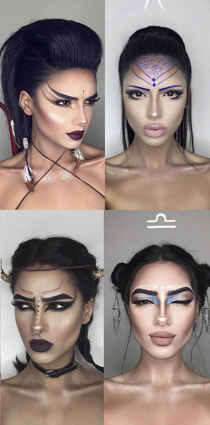 This makeup artist created a look for every star sign and theyre makeup looks for every star sign baditri Choice Image