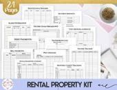 Property Owner Management Kit Rental Owner Printable Business Manager Landlord Tool Rental Property Owner Management Kit Rental Owner Printable Business Manager Landlord...