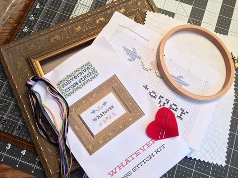 Combo Deluxe Kit and Frame | Color patterns, Needlework and Cross ...