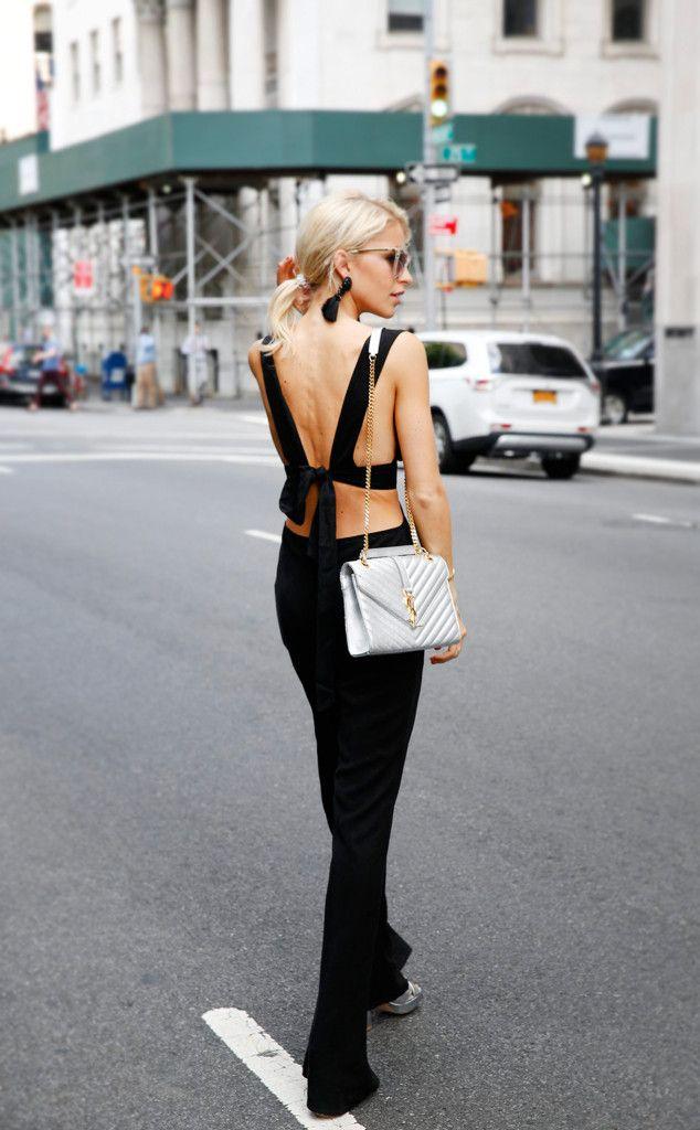 caroline daur from street style at new york fashion week. Black Bedroom Furniture Sets. Home Design Ideas