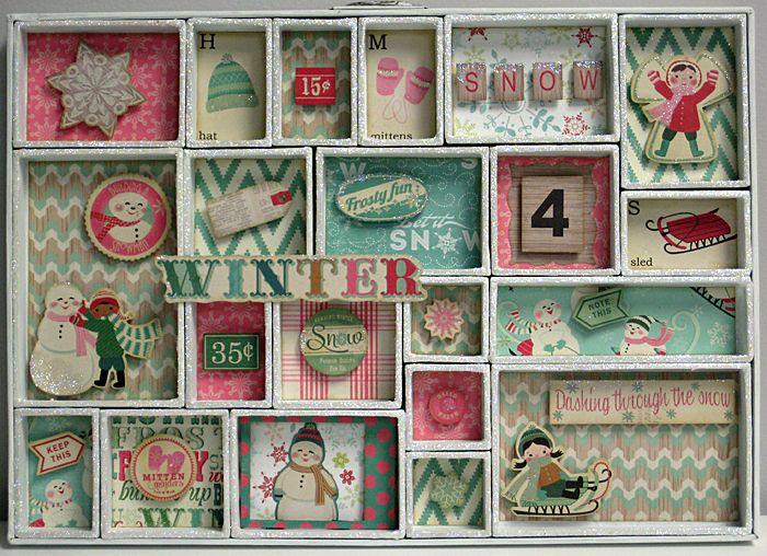 afficher l 39 image d 39 origine casier d 39 imprimeur pinterest bricolage noel bo tes de no l et. Black Bedroom Furniture Sets. Home Design Ideas