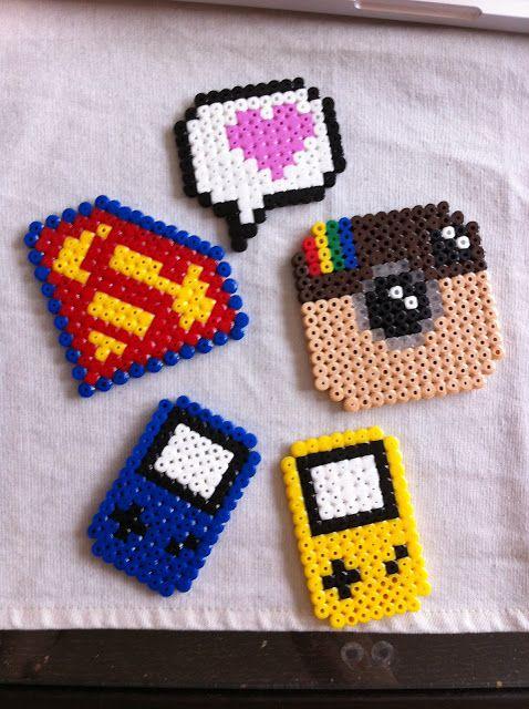 Hama Perler Beads Crafts Perler Beads Projects Pinterest