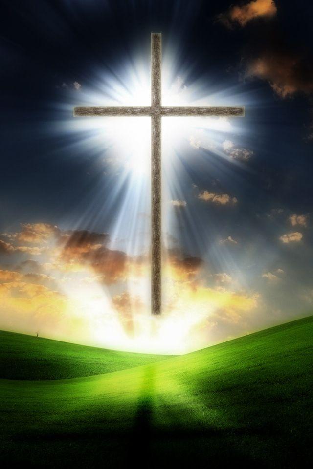 Holy Cross Cross Wallpaper Holy Cross Light Of The World