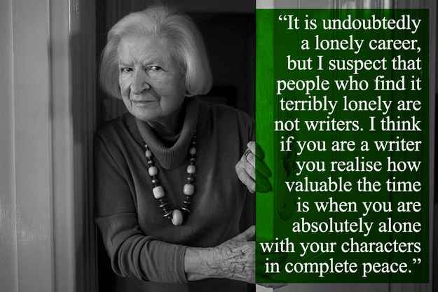 Image result for P.D. James, Advice to Writers