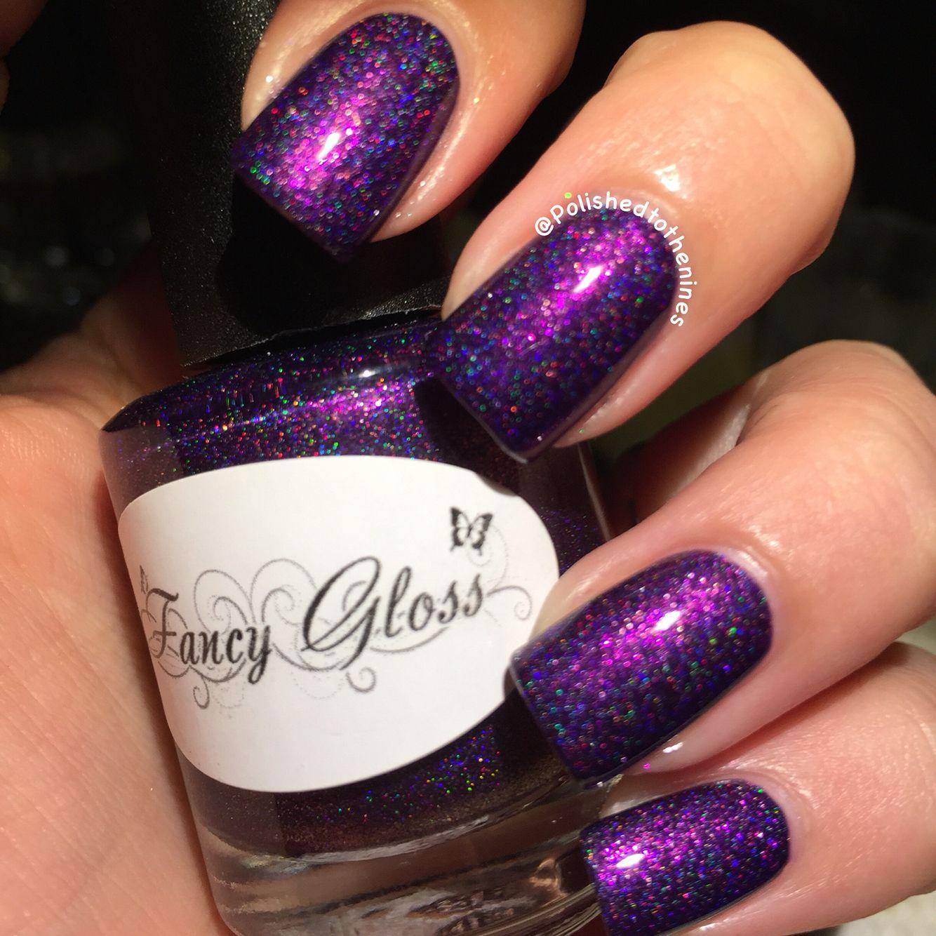 Fancy Gloss - Dark Fury (in USA Katie LeBron Frank) | NAIL ART ...