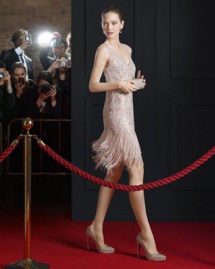 Abiti Eleganti Stile Anni 30.Abiti Da Cerimonia Rosa Clara 2015 Fashion Party Gonne Vestiti