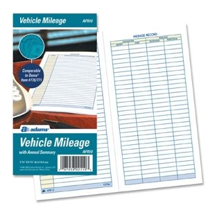 Adams Afr Vehicle Mileage Log  Logs And Xmas