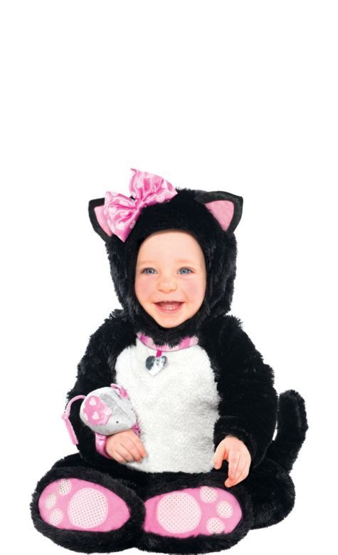 Baby Itty Bitty Kitty Costume - Party City KID COSTUMES - party city store costumes