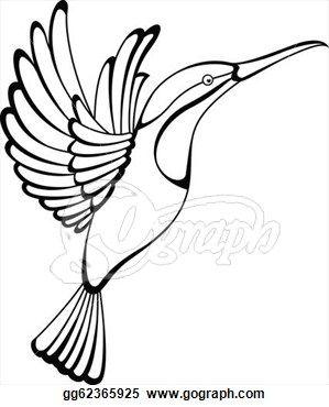 0272722f9 Hummingbird Clip Art - Royalty Free - GoGraph | tattoo flash