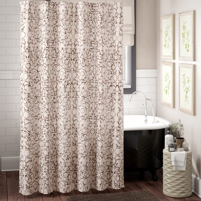 The Twillery Co Augustine Single Shower Curtain Stylish Shower