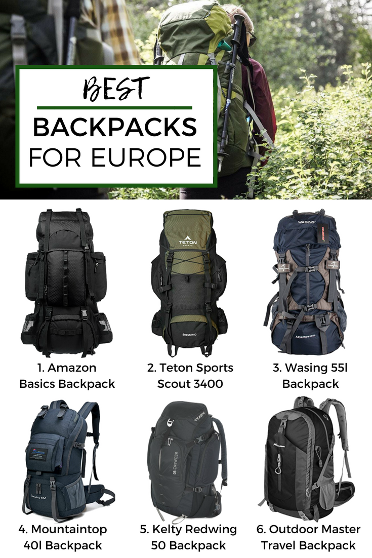 dc4c5dccad Looking for best backpacks for Europe  Here are our top picks from Amazon  for your epic Euro trip and detailed comparisons and reviews.  backpacks   europe