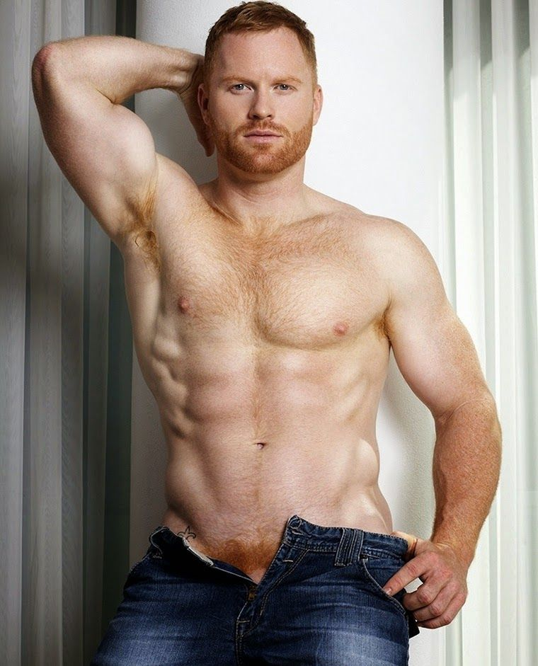 Gay redhead men naked