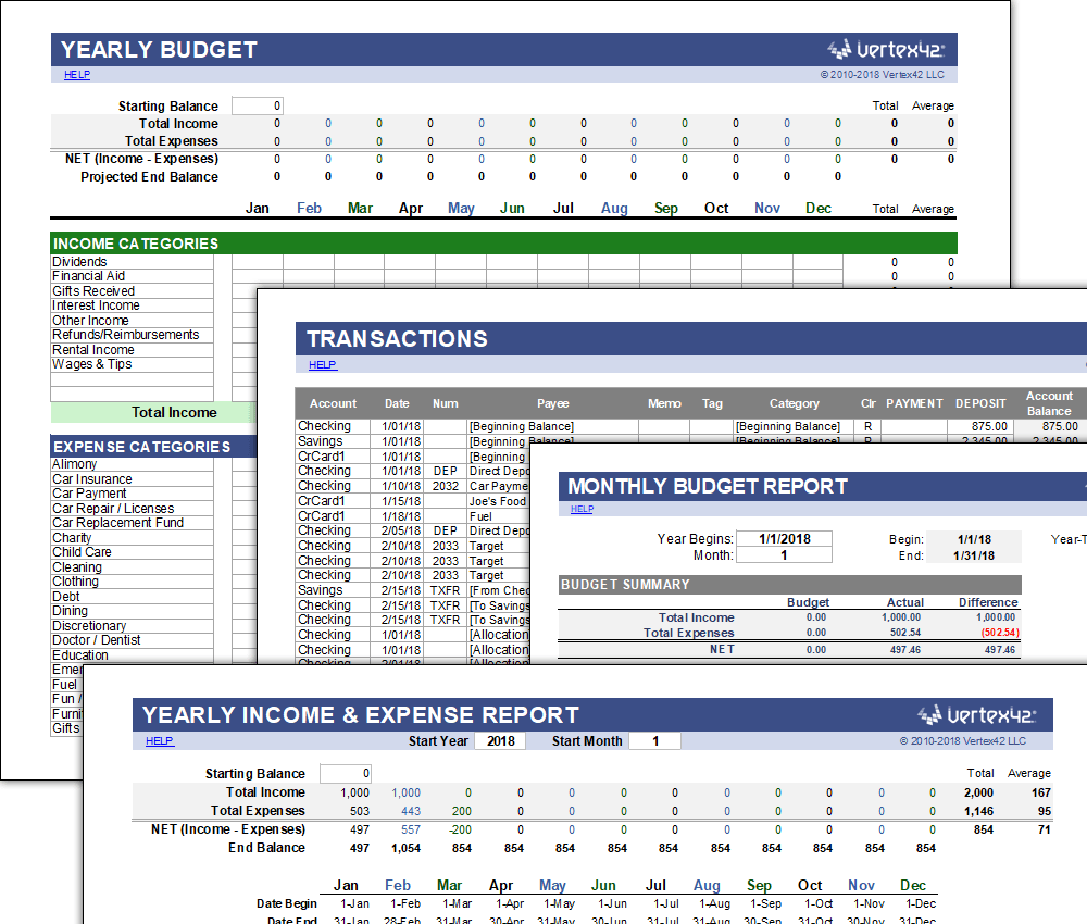 Best Excel Budget Template from i.pinimg.com