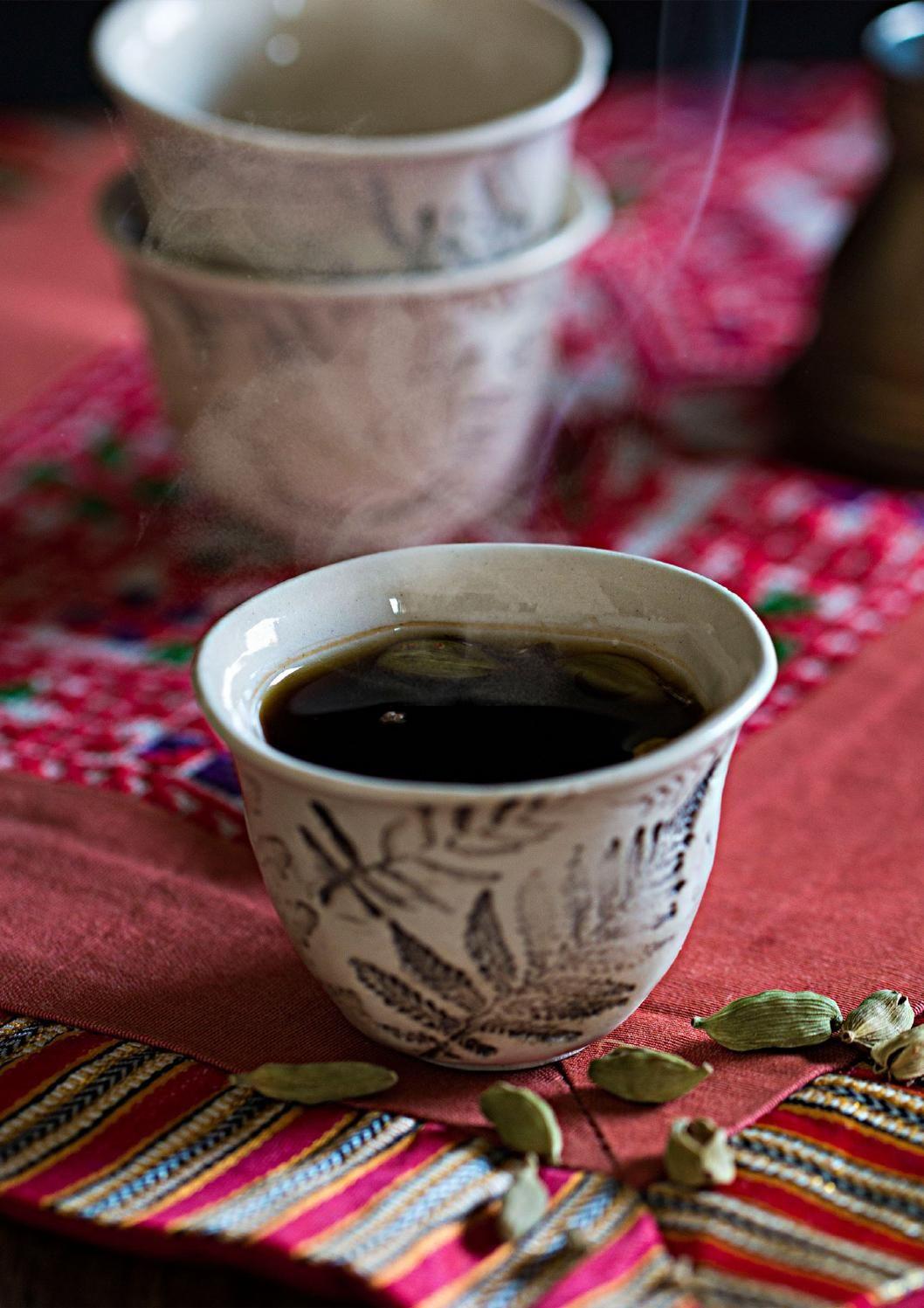 Darna Magazine Winter Issue Dec 2015 Middle Eastern Recipes Arabic Coffee Coffee Branding