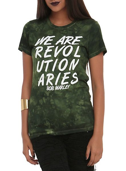 Bob Marley Revolutionaries Tie Dye Girls T-Shirt | Hot Topic
