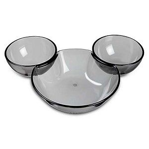 Disney Serving Plate Chip And Dip Mickey Mouse