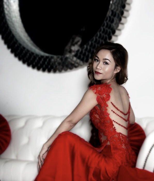 Vietnamese traditional bridal dress | Red Ao Dai | Red Vietnamese Ao ...