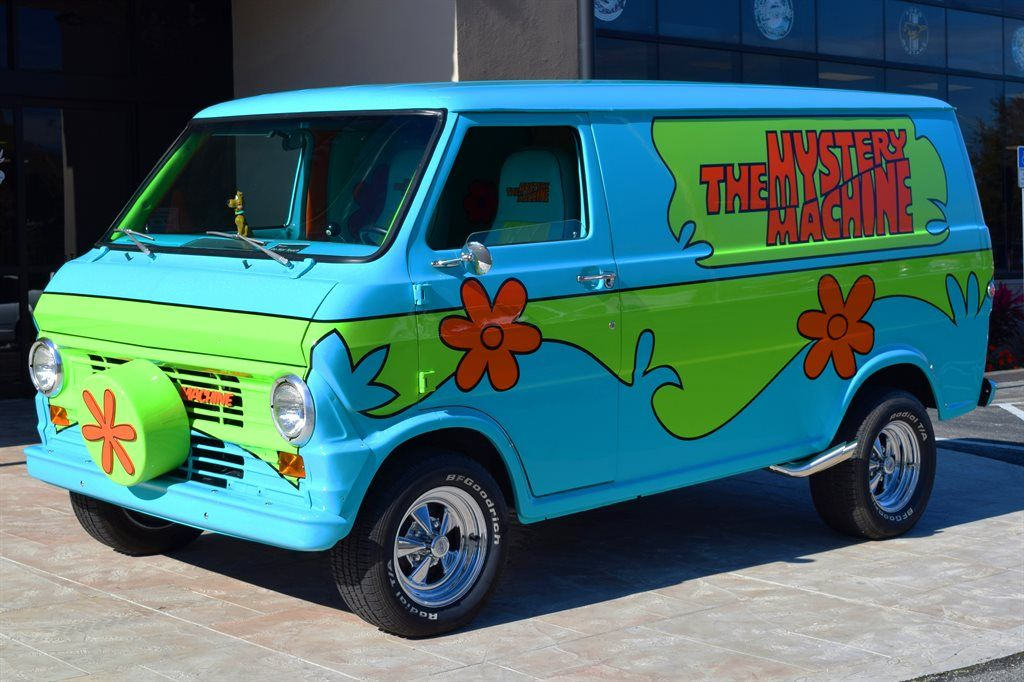Ideal Classic Cars 1972 Z Movie Car Scooby Doo Pictures