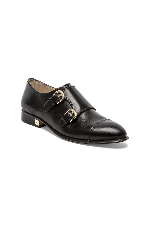 Sam Edelman Balflour Oxford in Black Leather