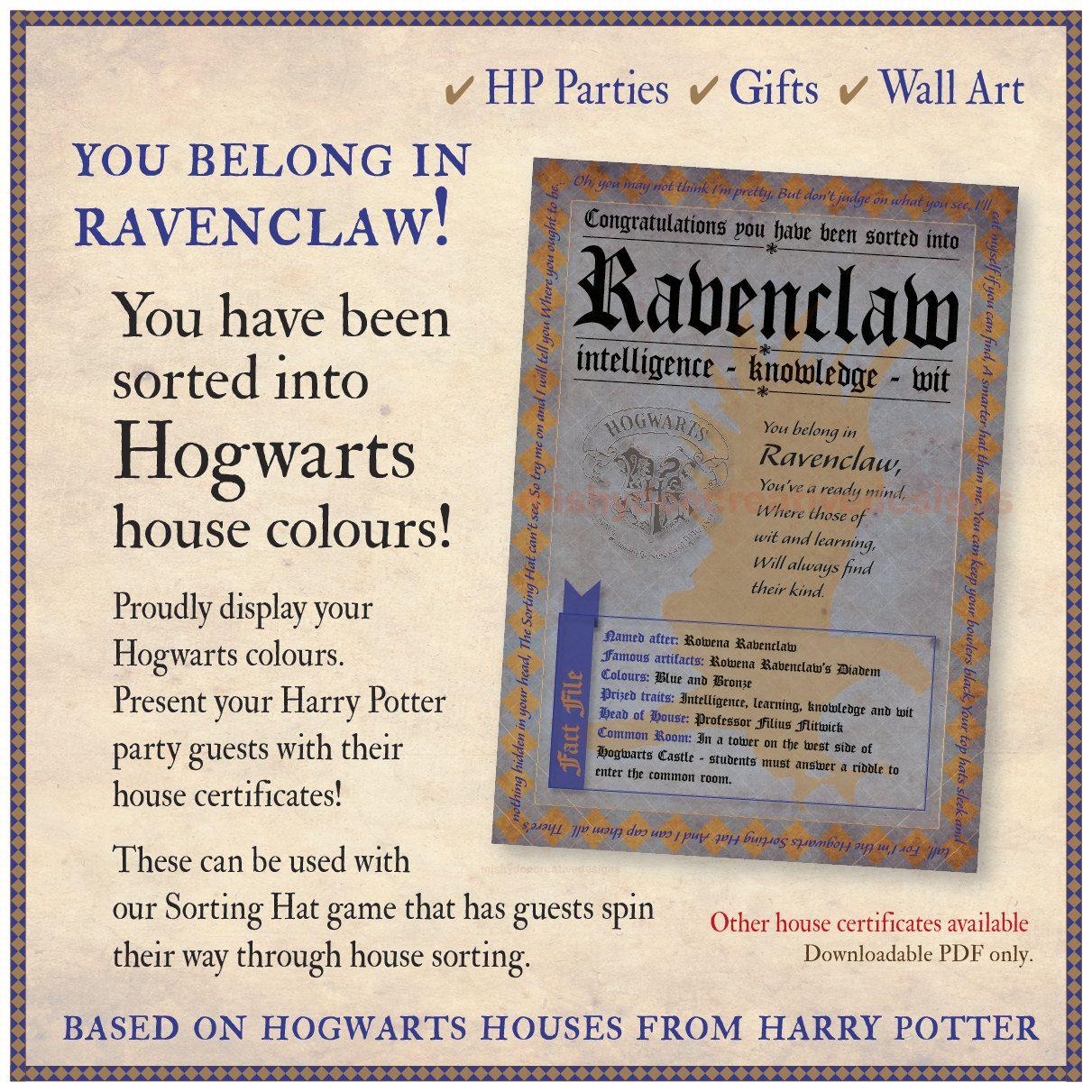 Pin Oleh Rose Harry Potter Di Sertifikat Hogwarts