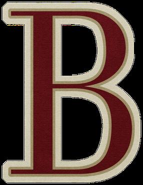 Imagenes De Letras Mayusculas De Color Rojo Letra B Letter B