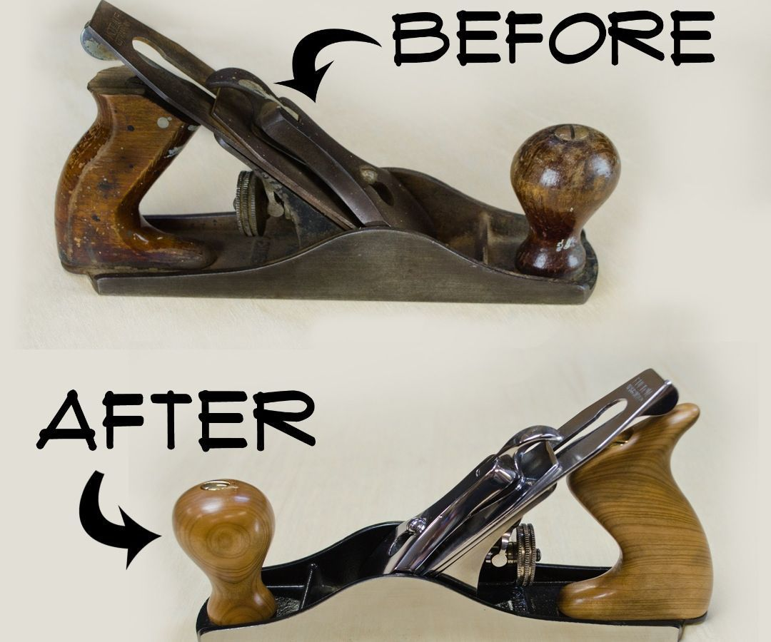 How To Restore A Hand Plane Hand Tools Pinterest Tools