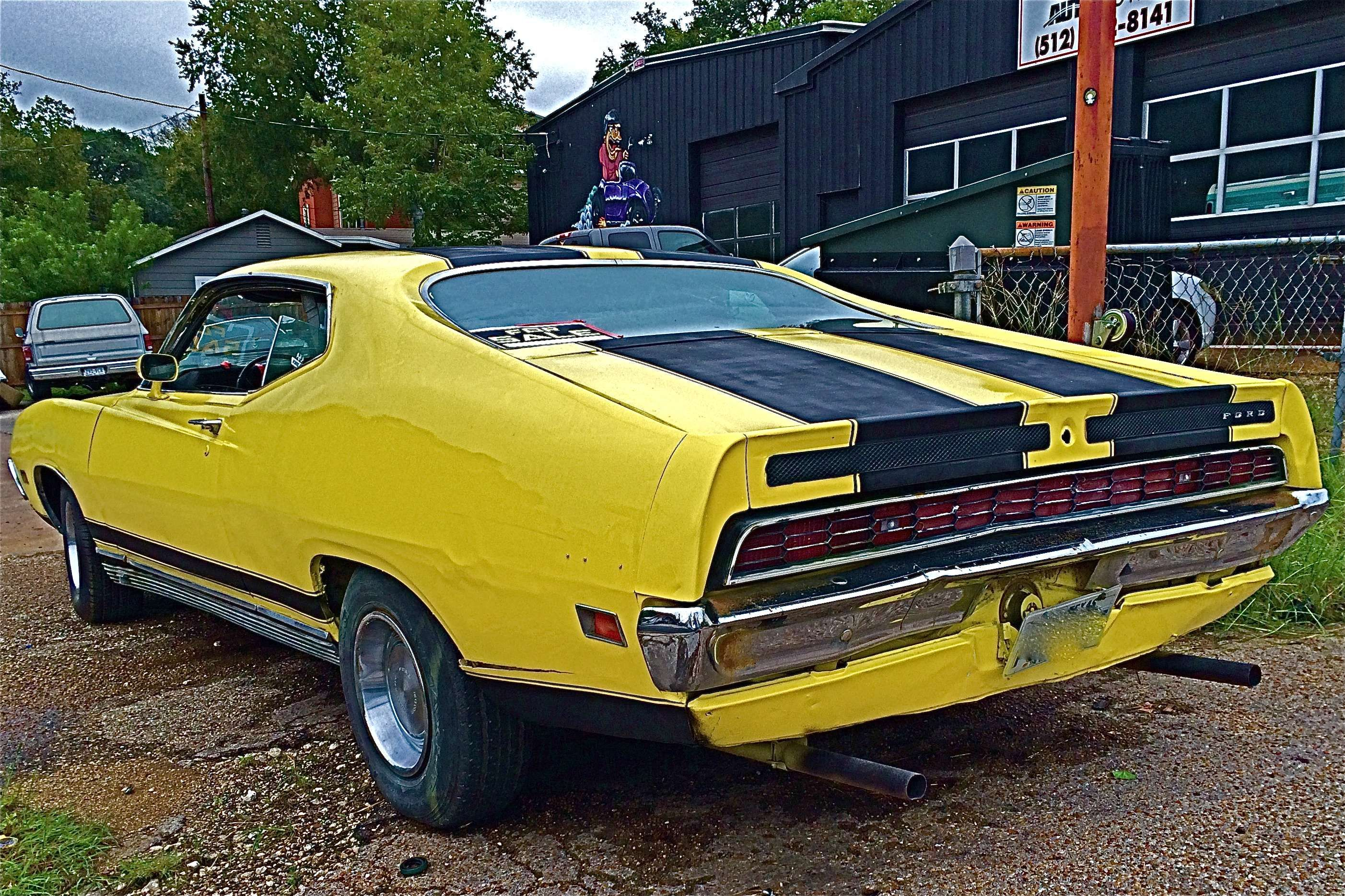1971 ford torino gt on s 1st st