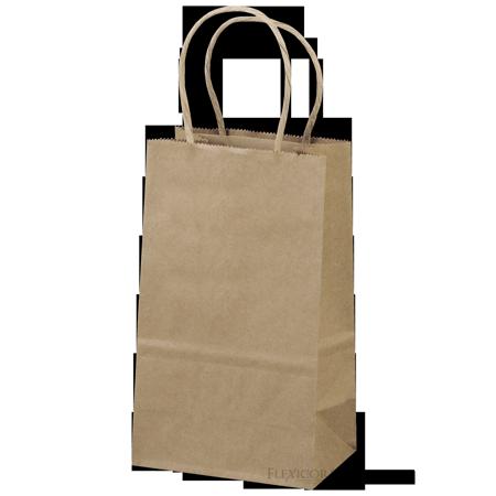 Brown Kraft Paper Bags 5 25 X3 5 X8 25 100ct Walmart Com Brown Kraft Kraft Bag Kraft Paper