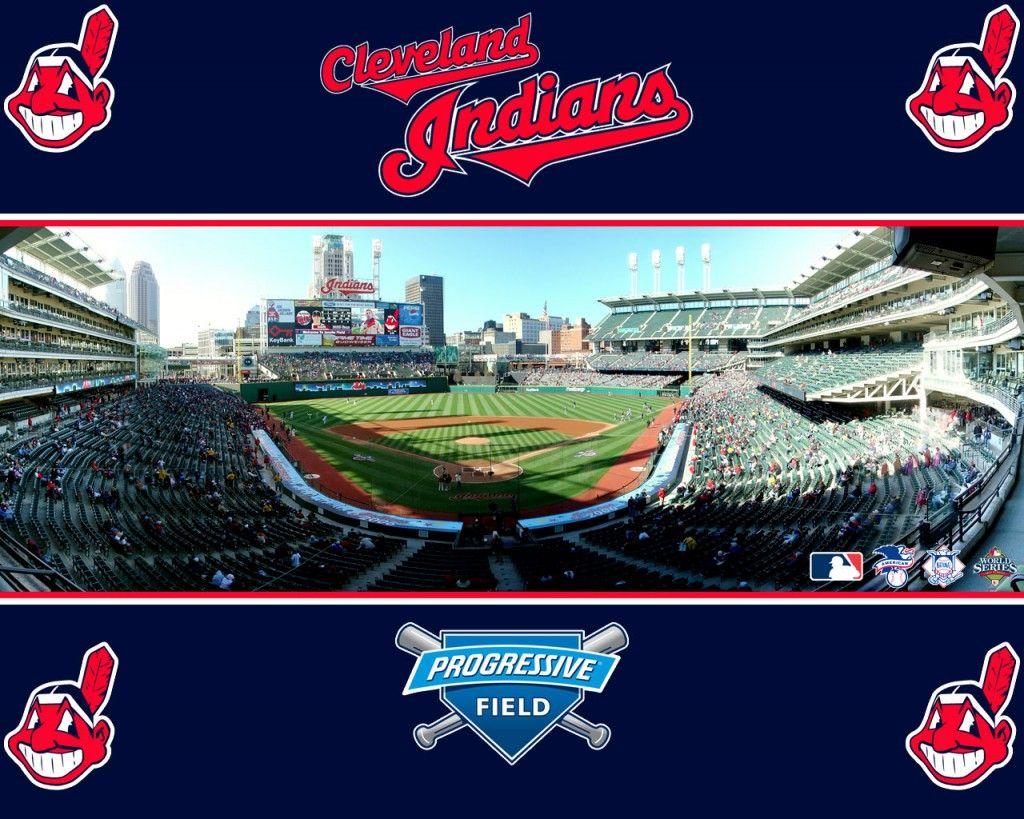 Outside Progressive Field desktop wallpaper Cleveland