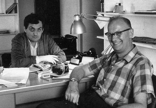 stanley kubrick and arthur c. clarke. | Stanley kubrick, Kubrick, 2001 a  space odyssey