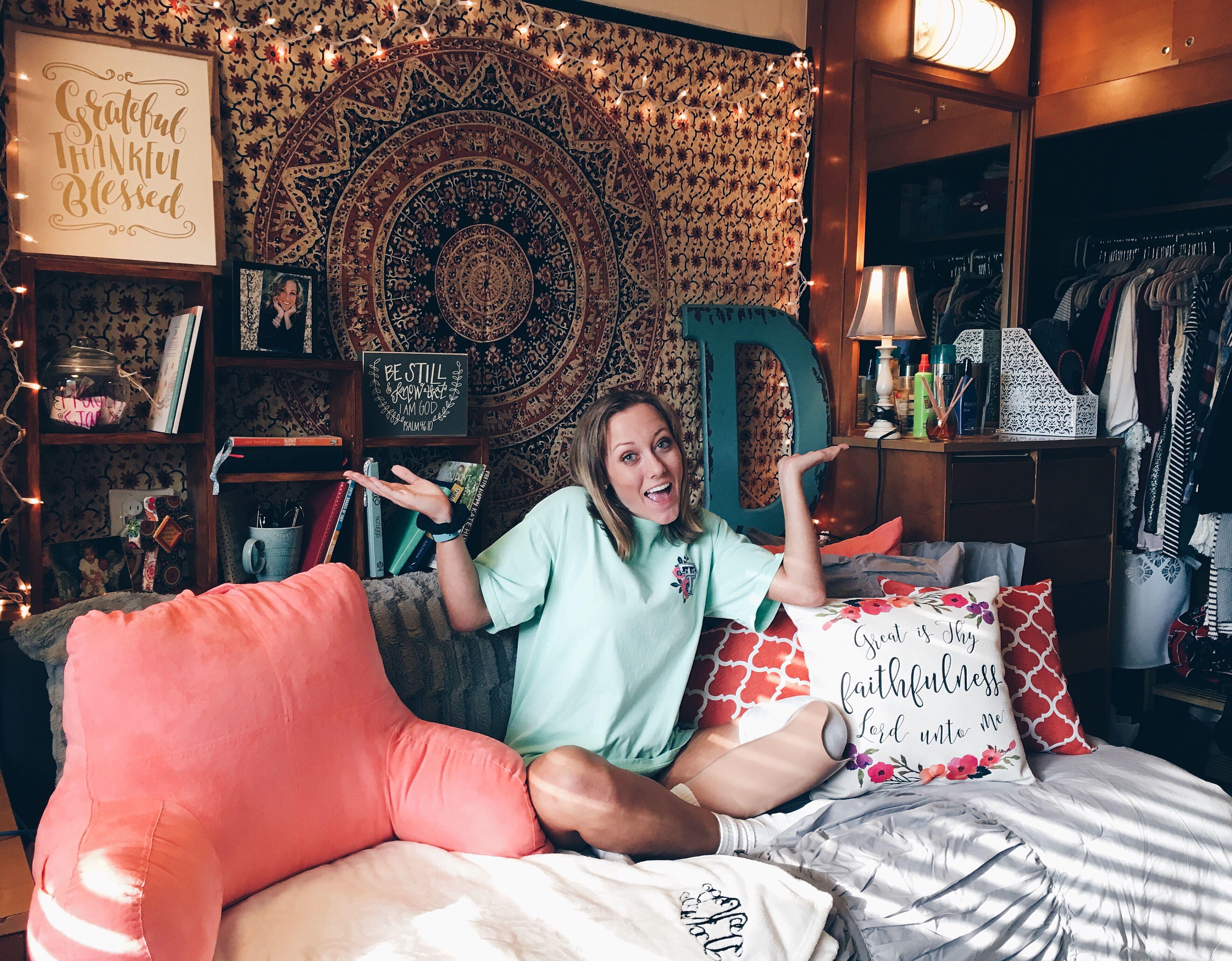 Texas Tech Dorm Room Gates Hall Dorm Room Organization