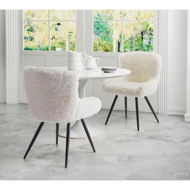 Enjoyable Zuo Modern Coco Dining Chair Ivory In 2019 Dining Room Caraccident5 Cool Chair Designs And Ideas Caraccident5Info