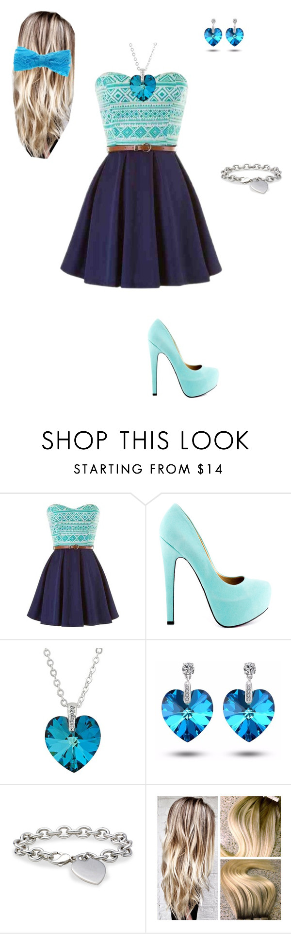 """""""Untitled #55"""" by cittie ❤ liked on Polyvore featuring TaylorSays, Jon Richard and Blue Nile"""