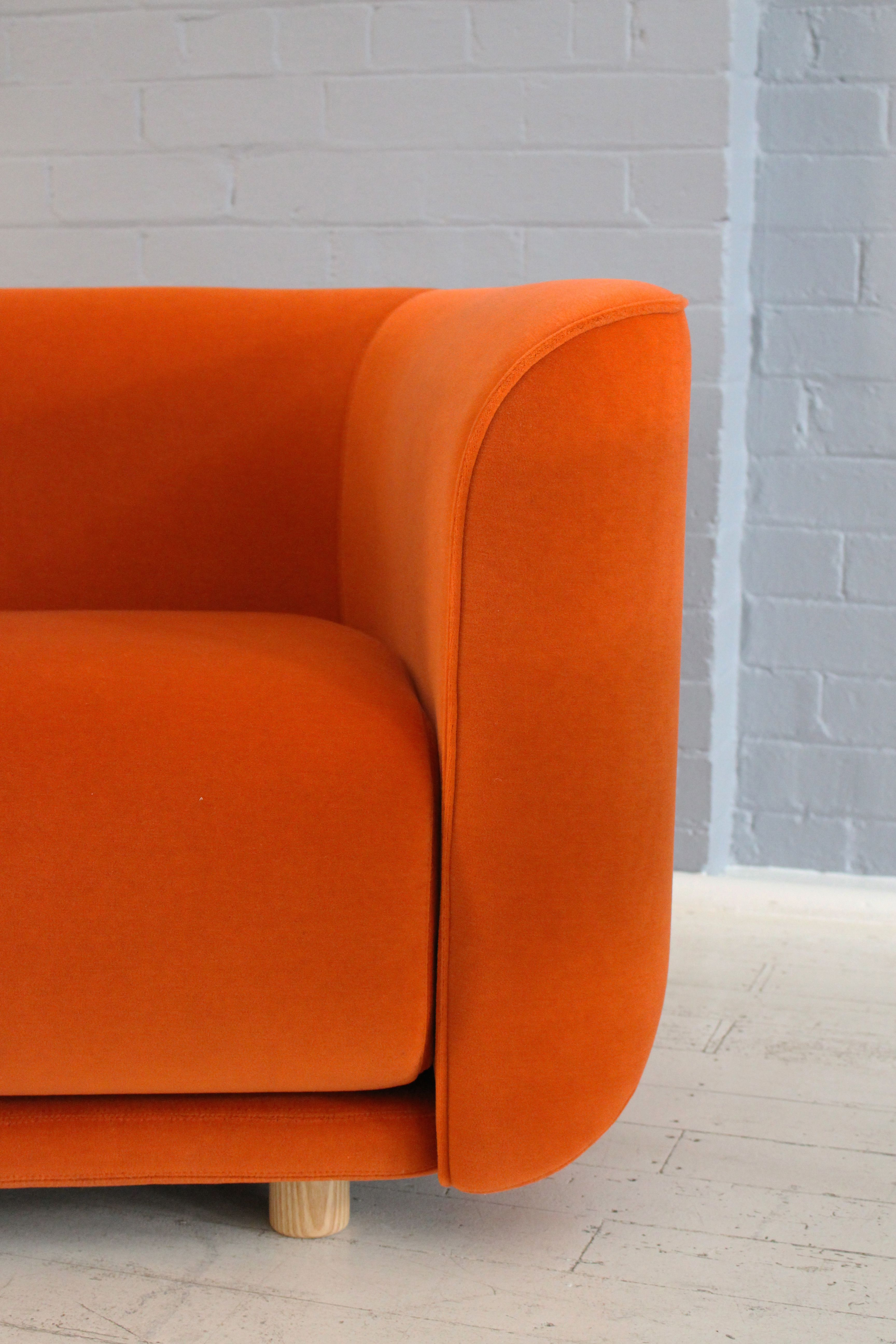 AGxCult Close up of Fat Tulip chair designed by Adam Goodrum for
