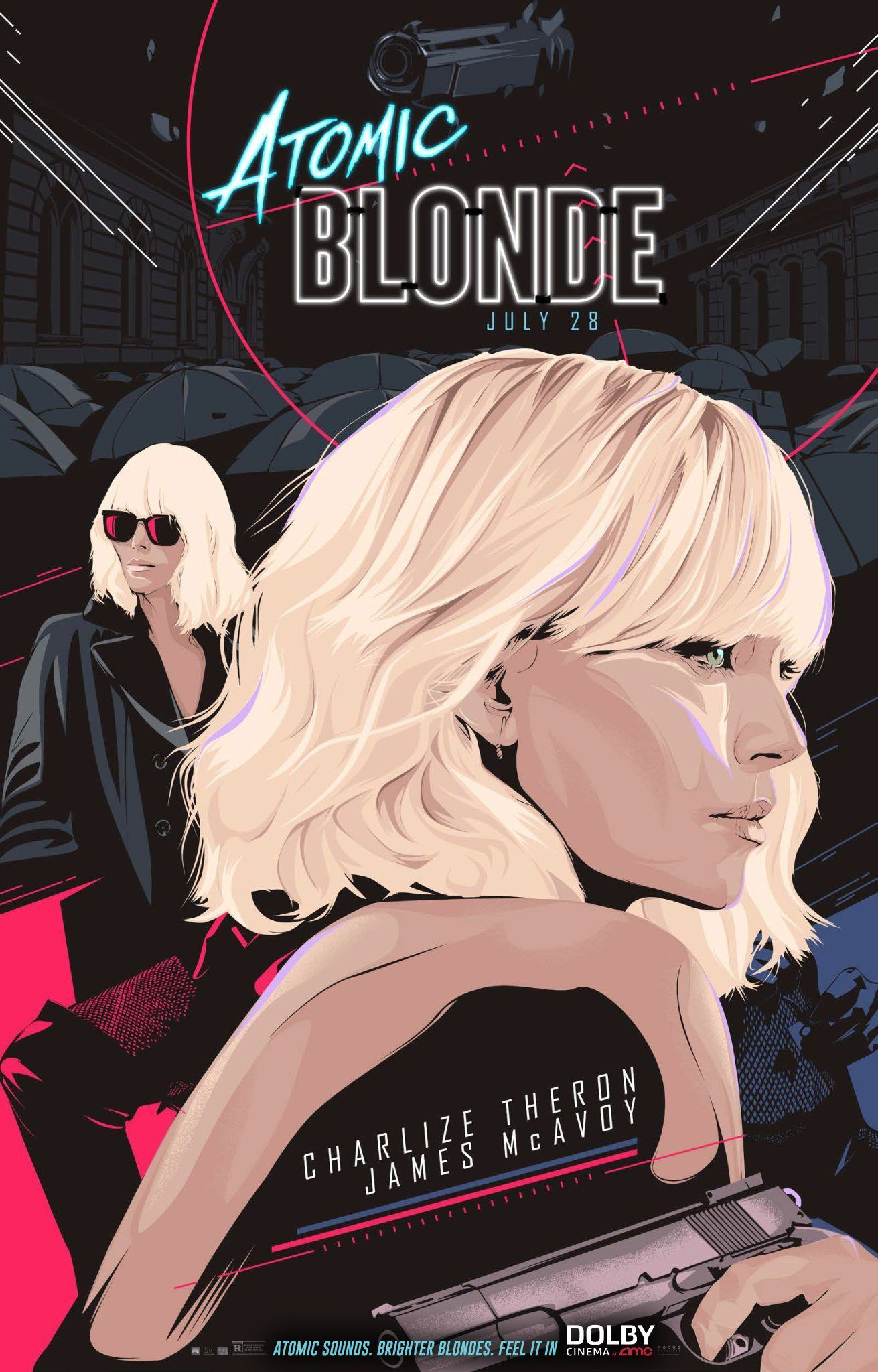 Atomic Blonde - Poster Check out the trailer here.