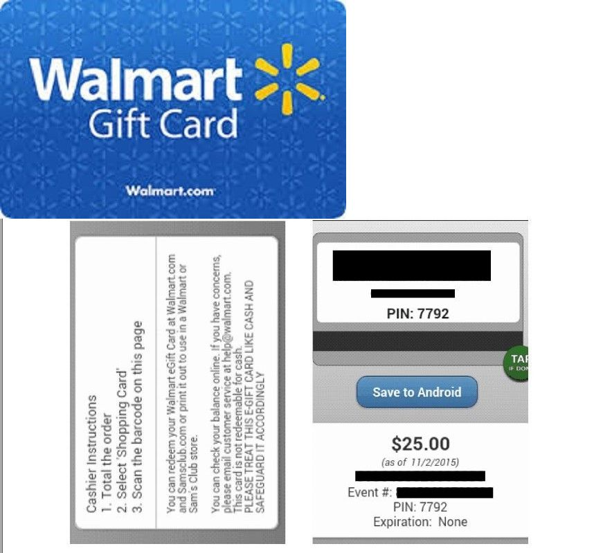 Gift Cards: $25 Walmart Gift Card ***In Store Or Online*** Fast ...