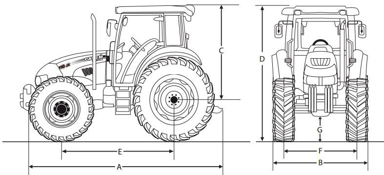 Case Farmall 70 Jx Tractor Dimensions Jpg 787 358 Farmall Farmall Tractors Tractors