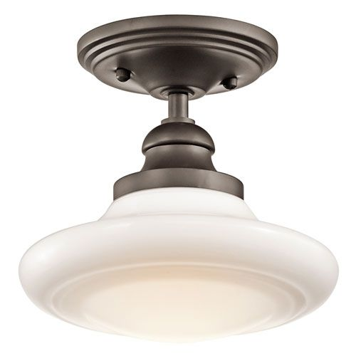 Flush and semi flush ceiling lighting at bellacor