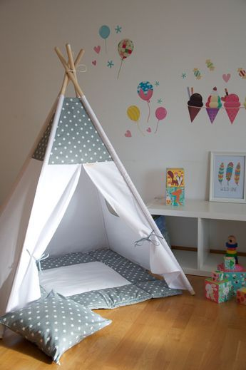 teepee play tent pattern
