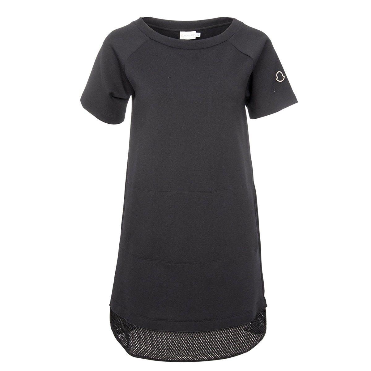 moncler kleid schwarz