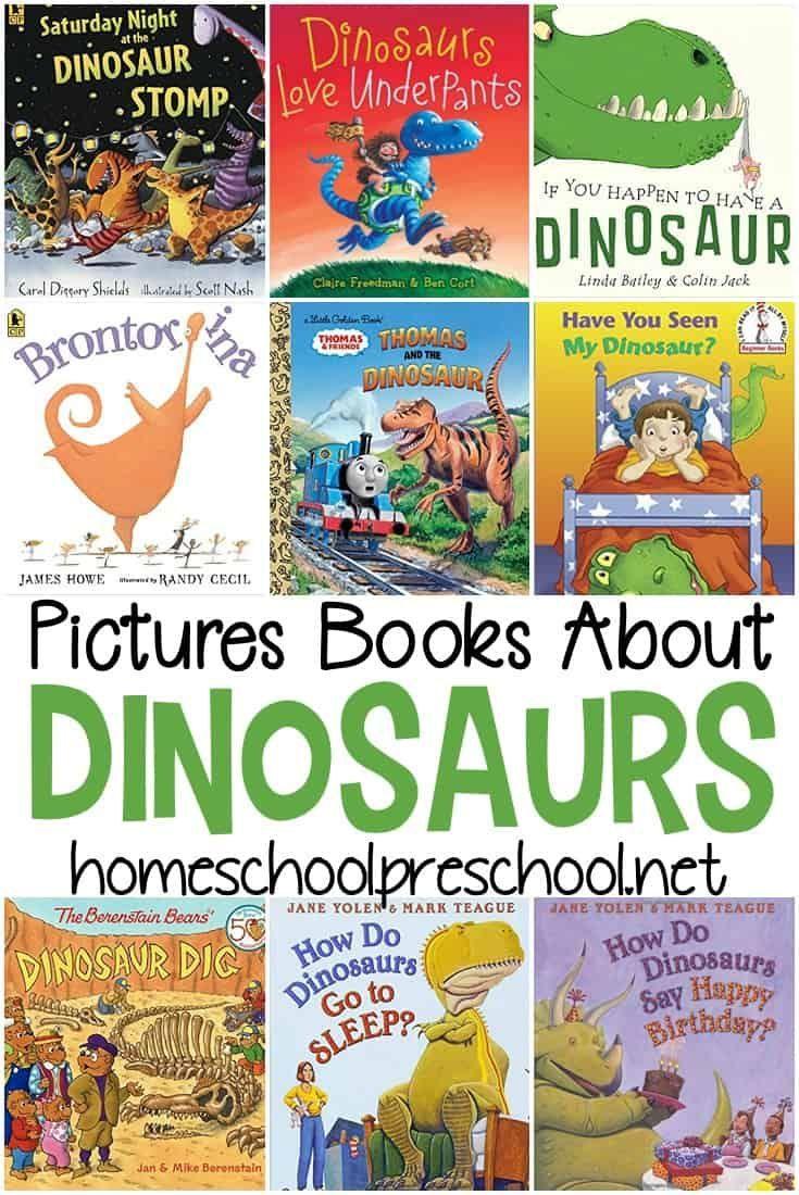 non-fiction dinosaur books for preschoolers