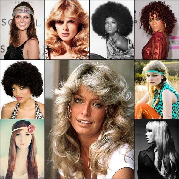 Years To Years Hairstyle Trends That Are Still High 70s Disco Hairstyles Disco Hair Hair Styles