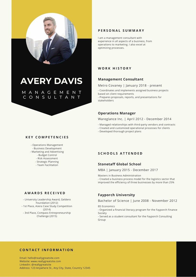 20 IT Manager Resume Templates & Writing Tips Onedesblog